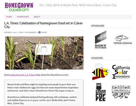Post image for HomeGrown Culver City